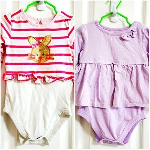 Onesies bundle for toddler girls..24M